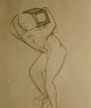 matita su foglio di Rocco Tunno